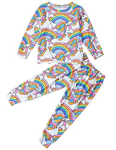 Ahegao Girls Boys Pajamas Set Kids Size 2 Piece Sleepwear Long Sleeve Children Halloween Casual PJs Clothes 2 to 9 Years