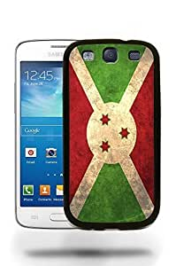 Burundi National Vintage Flag Phone Case Cover Designs for Samsung Galaxy S3