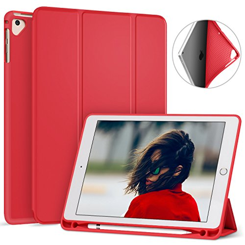Ztotop Newest iPad 9.7 Inch 2018 Case with Pencil Holder - L