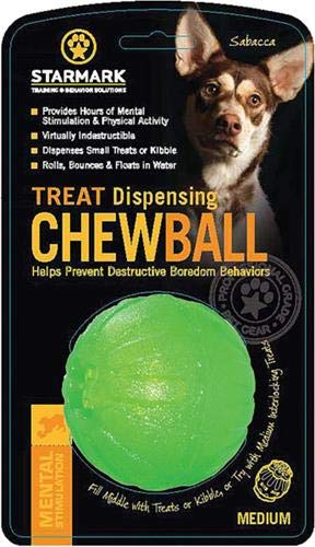 Treat Dispensing Chew Ball, -