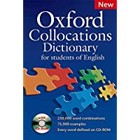 Oxford Collocations Dictionary - Second Edition: Oxford collocation dictionary. Con CD-ROM