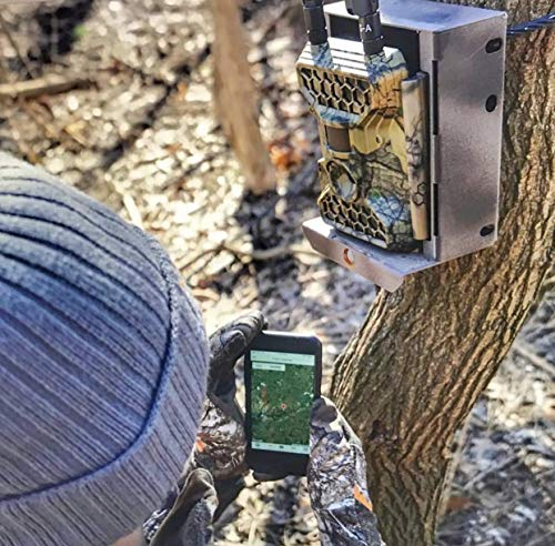 4GLTE Cellular Trail Camera Snyper - Commander 4GLTE Trail Camera 12MP/1080P Wireless Trail Camera with 2 LCD Screen - Sends to Any Network Phone. GPS Camera Tracking.
