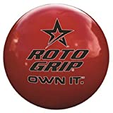 Roto-Grip Own It Red Clear Polyester Bowling Balls, 12-Pounds