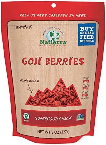 Dried Fruit & Raisins: Natierra Goji Berries