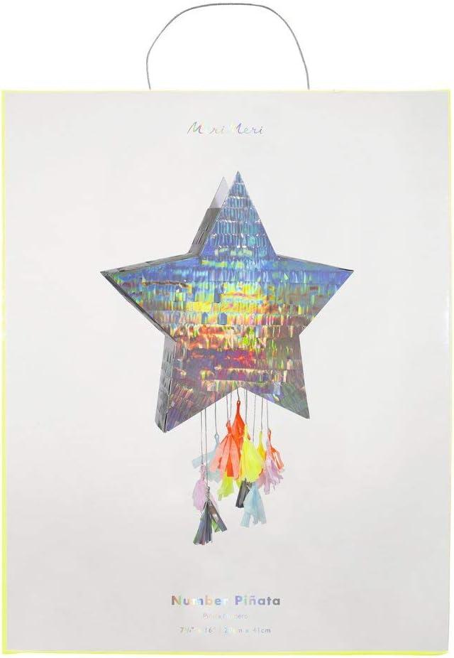 Meri Meri Pi/ñata de estrella plateada