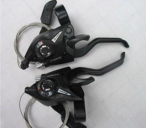 Price comparison product image SHIMANO Saint-EF51 &Manette de dérailleur Combo Set 3 x 8-Paire de Cable de changement de vitesse et embouts
