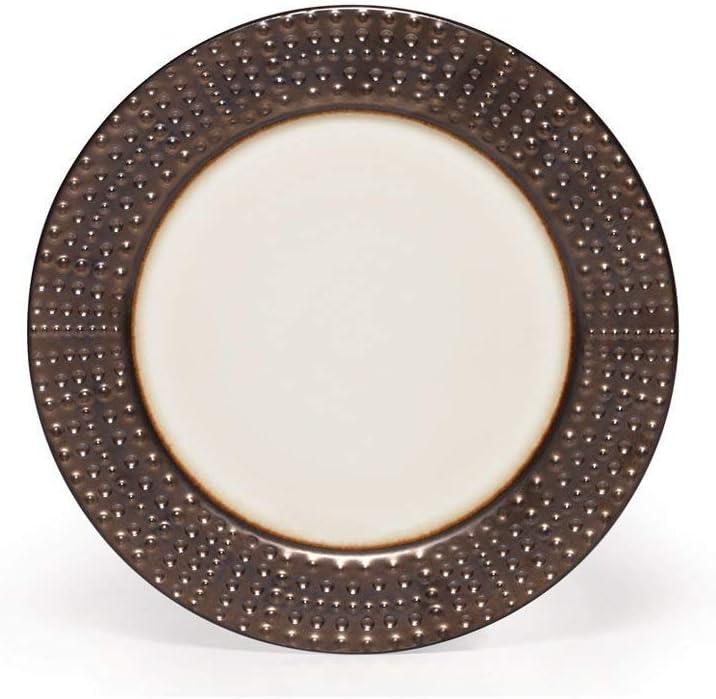 Gourmet Basics by Mikasa Metropolitan dinner plate, Set of 4