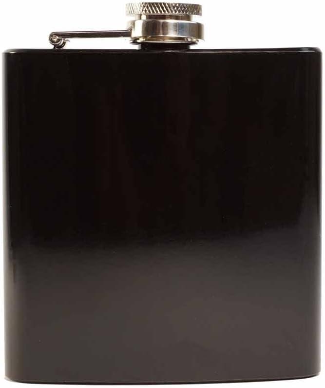 argento Accaio inox Father Papa Dad E-Volve Fiaschetta Hip Flask 6oz