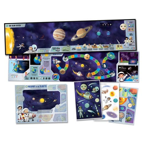 (LeapFrog LeapReader Interactive Solar System Discovery Set (works with Tag) )