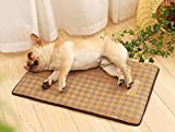 KINGSWELL Pet Cooling Mat for Dogs & Cats, Breathable Self Cooling Pad Ultra Soft Comfortable Blanket Bed for Large Dog and Cat Sleeping in Summer