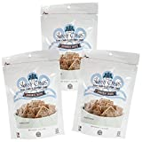 gluten free cheese rolls - Skinny Crisps Cinnamon Crisps Low Carb Gluten Free Gourmet Crackers 4 Oz Bag (Pack of 3)