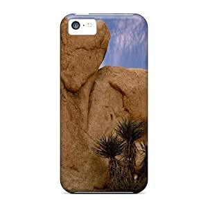 For Iphone 5c Fashion Design Rock Heart In Joshua Tree Np Case-gakusTq1735VdoIZ