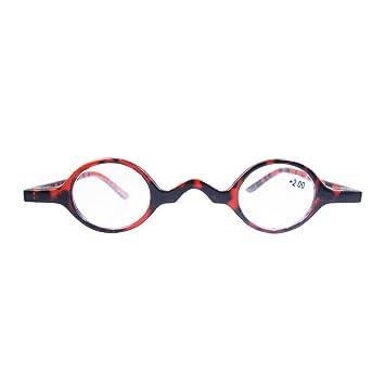 457eaa7202 Designer Readers Cute Small round Oval Vintage Reading Glasses Eyeglasses  (+1.75