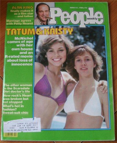 People Weekly Magazine March 31, 1980: Tatum O'Neil Christy McNichol, Blue Lagoon