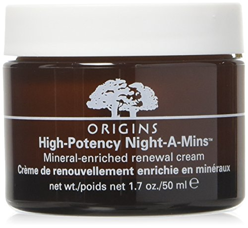 Cream Mineral Night (Origins High Potency Night-A-Mins Mineral-Enriched Moisture Cream 1.7oz, 50ml)