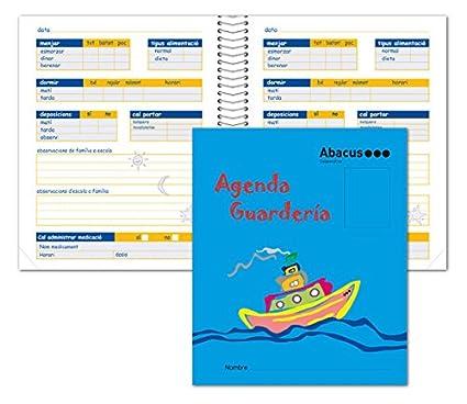 AGENDA GUARDERIA ABACUS CAST: Amazon.es: Oficina y papelería