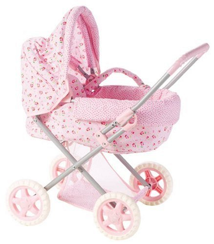 Corolle Les Classiques Doll Accessories (Floral Print Carriage)
