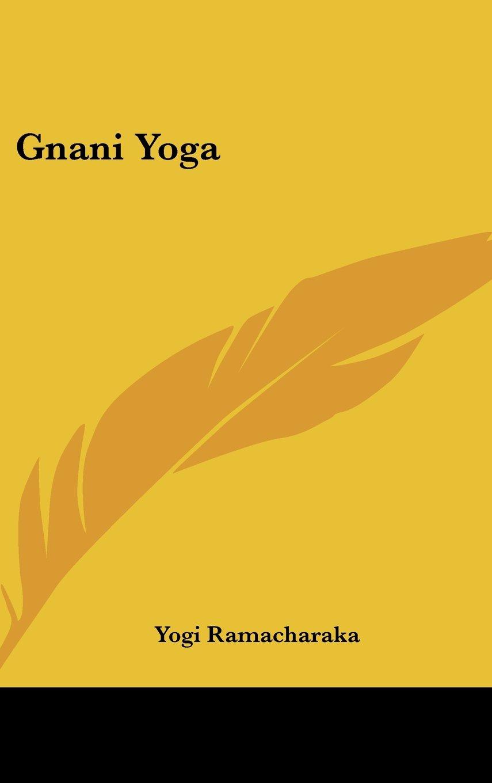 Download Gnani Yoga pdf