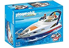 Playmobil 5205 Luxury Yacht with Two People and Lost of Accessories