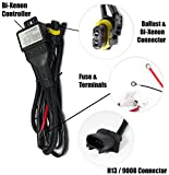 dual beam relay harness - XtremeVision H13/9008 Hi/Lo Bi-Xenon Controller HID Battery Relay Wiring Harness 12V 35W/55W
