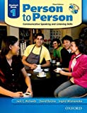 Person to Person: Student Book 1: Communicative Speaking And Listening Skills