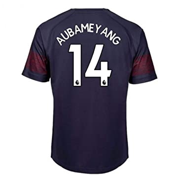 2018-2019 Arsenal Puma Away Football Soccer T-Shirt (Pierre Emerick  Aubameyang 14) - Kids  Amazon.co.uk  Sports   Outdoors e106e9d41