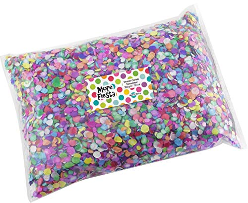 MoreFiesta Multicolored Paper Confetti - 12oz