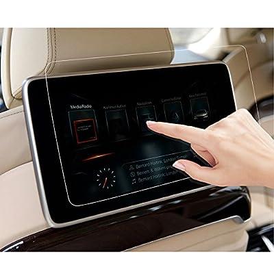 LFOTPP 2PCS Rear Seat TV Glass Screen Protector for New BMW 7 Series/BMW X5 X6 / New BMW 5 Series, Back Seat Entertainment/Headrest TV Screen Protector [9H] Anti Scratch