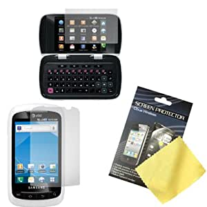 Cbus Wireless 3x Sets LCD Screen Guards / Protectors / Film for Samsung DoubleTime / i857