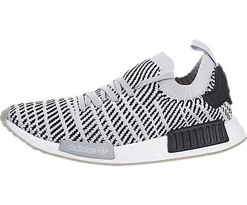 adidas Men's NMD_R1 STLT Primeknit Originals Grey/Grey/Core Black Running Shoe 10.5 Men US