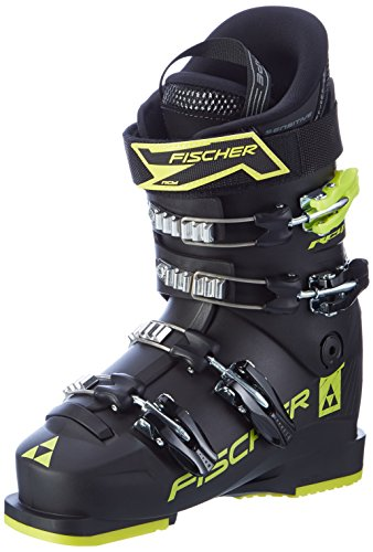 Fischer RC4 Jr 60 Thermoshape Ski Boots Kids Sz 3.5 (Jr Kids Ski Boot)