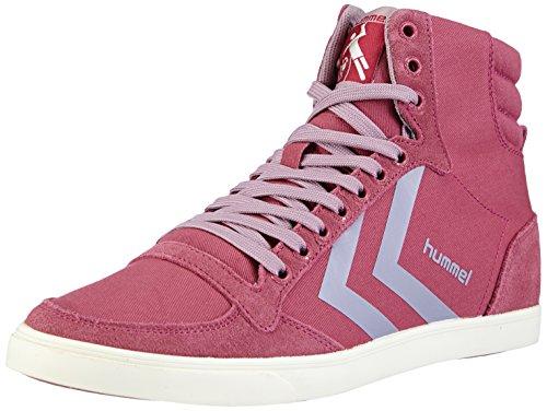 hummel HUMMEL SL STADIL PASTELS HI - zapatillas deportivas altas de lona mujer rosa - Pink (Malaga 4492)