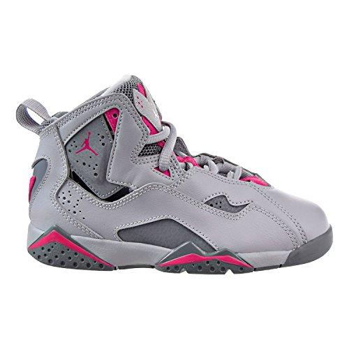 Flight Women Shoes (Jordan True Flight (GP) Little Kids Shoes Wolf Grey/Deadly Pink 342775-018 (1 M US))
