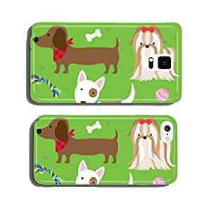 Dogs with Toys cell phone cover case iPhone5