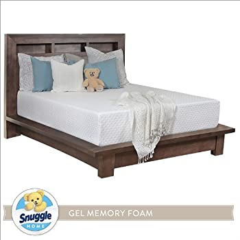 Amazon Com Snuggle Home 12 Inch Deluxe Gel Memory Foam
