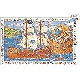 Djeco - 79981 - Puzzle Observation - Les Pirates - 100 Pièces
