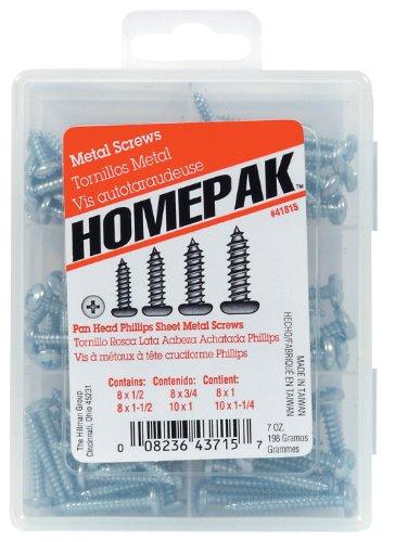 HOMEPAK 41815 Pan Head Phillips Sheet Metal Screws (Pan Head Sheet Metal Screws compare prices)