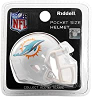 Miami Dolphins NFL Riddell Speed Pocket PRO Micro/Pocket-Size/Mini Football Helmet