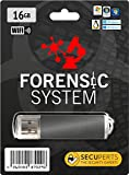 Software : SecuPerts Forensic System - Computer privacy and network analysis tool - USB 3.0 stick