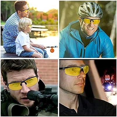 Night Vision Glasses for Driving Nighttime Driving Glasses for Women Men Fashion Sunglasses for Rain and Night Driving SUPERSUN HD Night Driving Glasses Anti Glare Polarized