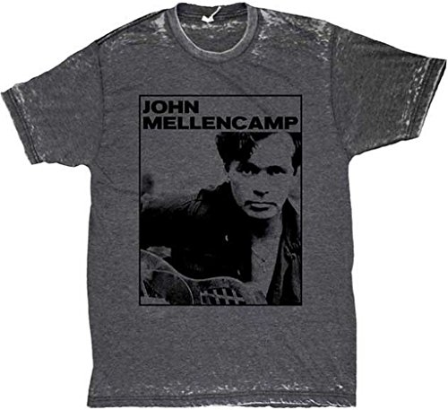- John Mellencamp Photo Men's Burnout T-Shirt