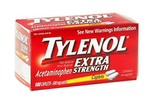 TYLENOL X-STR CAPLETS 100 by Tylenol Paracetamol