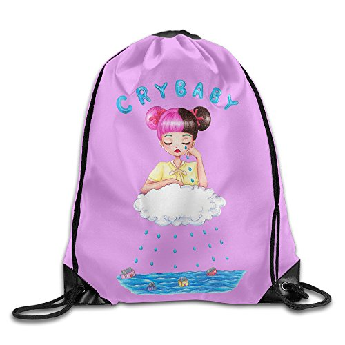 Used, SUNG916 CRY Baby Gym Drawstring Bags Backpack for sale  Delivered anywhere in USA