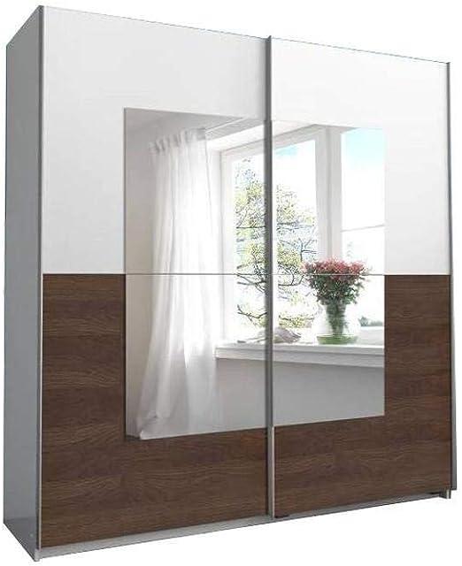 Inside Dressing de Puertas correderas Jagger 180 cm Negra Blanco ...