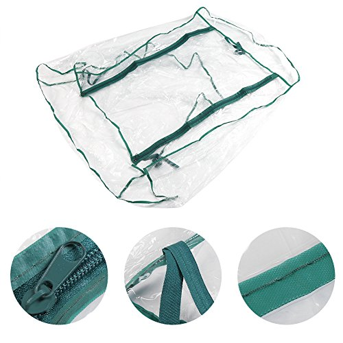 GLOGLOW Greenhouse Tent, Portable PVC Plant Green House Mini Warm Flower Plants Household Clear Waterproof Plant Cover for Outdoor and Indoor Gardening Planting(Without Iron Stand) by GLOGLOW (Image #3)