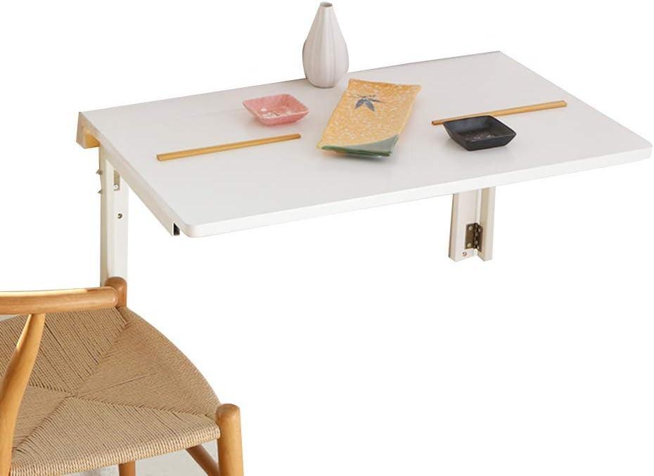 10 Dimensioni Scrivanie Pieghevole da Parete in Legno massello Tavolo da Computer Multifunzione XYL Tavolo Pieghevole da Parete Bianco Tavolo da Studio per Bambini