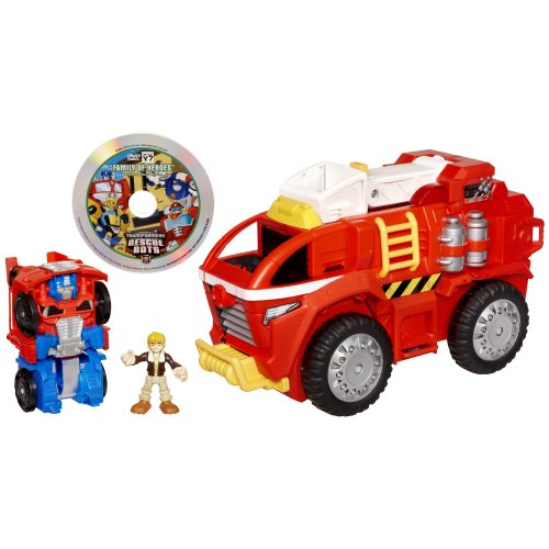 Transformer Station (Transformers Rescue Bots Playskool Heroes Electronic Rescue Bots Mobile Headquarters Playset)
