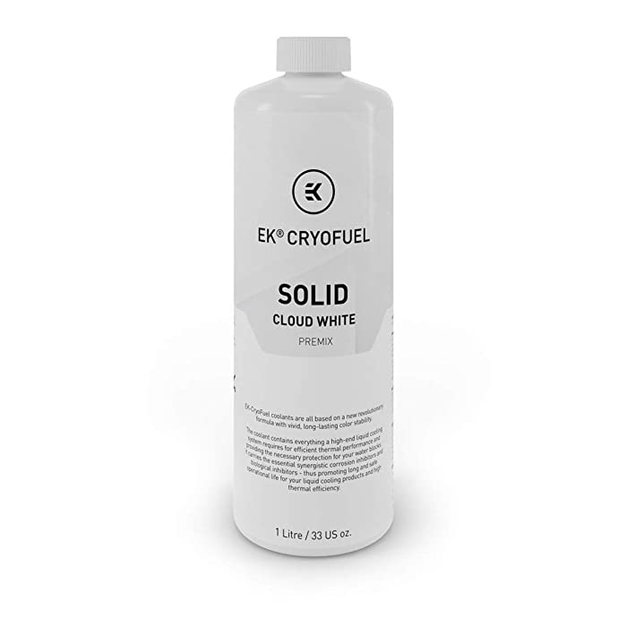 EKWB EK-CryoFuel Solid Premix Coolant, 1000mL, Cloud White