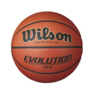 "Wilson B0586R Evolution 28.5"" Game Ball Basketball (Intermediate) by Wilson Sports"