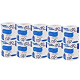 Ultra GentleCare Toilet Paper, 4-Ply Standard Rolls Toilet Paper Soft Skin-Friendly No Fragrance Bath Tissue Paper for Commercial Household-10 Rolls